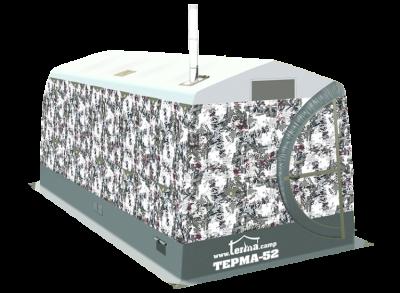 Мобильная баня / универсальная всесезонная палатка ТЕРМА-52 (Терма)
