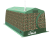 Мобильная баня / универсальная всесезонная палатка ТЕРМА-55 (Терма)