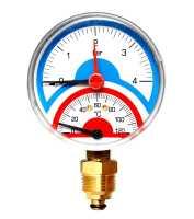 Термоманометр радиальный Watts F+R828 10025525 DN 80 (0-10 бар)