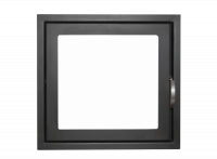 Дверь каминная ДК555-1С (Мета)