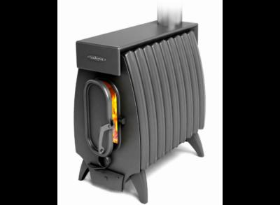 Отопительная печь ОГОНЬ-БАТАРЕЯ 9 ЛАЙТ Б с теплообменником (Термофор) 200 м3