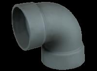 Отвод чугунный 90° d-130 (Gefest)