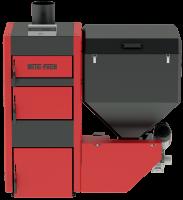 Котел Metal-Fach SMART Auto ECO PLUS 25 кВт с левой подачей (поворотная горелка с самоочисткой)