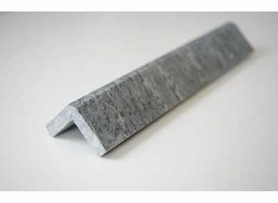 Уголок облицовочный ТАЛЬКОХЛОРИТ уральский, с фаской, полированный, 300х50х50, для плитки 10мм, шт