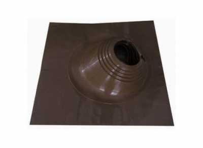 Проходник Мастер Флеш №2-RES (200-280), угловой, силикон/алюминий, коричневый, 650х650мм