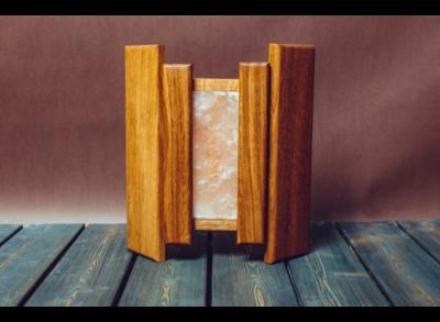 Абажур с гималайской солью (Woodson)