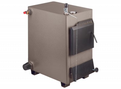 Твердотопливный котел КАРАКАН 20 ТЭГВ-3, max давление до 3 атм. (СТЭН) 20 кВт