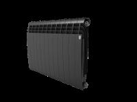 Радиатор алюминиевый Royal Thermo Biliner Alum 500 Noir Sable - 12 секц.