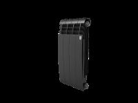 Радиатор алюминиевый Royal Thermo Biliner Alum 500 Noir Sable - 4 секц.