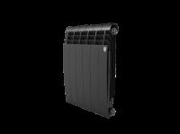Радиатор алюминиевый Royal Thermo Biliner Alum 500 Noir Sable - 6 секц.