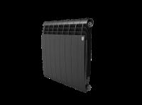 Радиатор алюминиевый Royal Thermo Biliner Alum 500 Noir Sable - 8 секц.