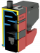 Котел Metal-Fach SMART Auto ECO PLUS 15 кВт с левой подачей (поворотная горелка с самоочисткой)