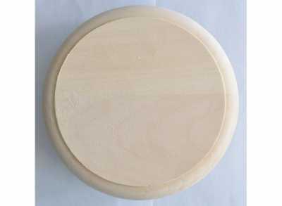 Клапан тарельчатый без гравировки D=125мм LIGHT WOOD липа