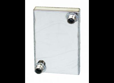 Теплообменник для печей ВИТЯЗЬ и ВИКИНГ, 170х150 мм, сталь 430, толщина 1,0 мм (Березка)