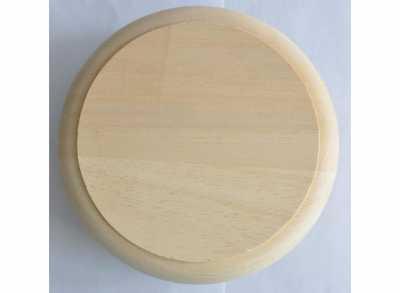 Клапан тарельчатый без гравировки D=100мм SAUNA WOOD абаш