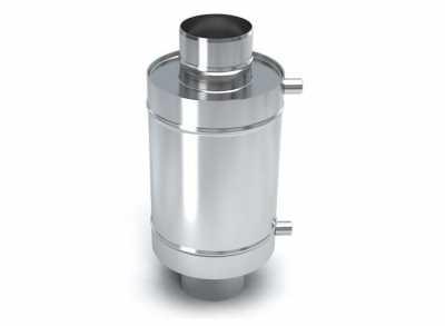 Теплообменник 30 л, d-115, нерж., 0,8 мм (УМК)